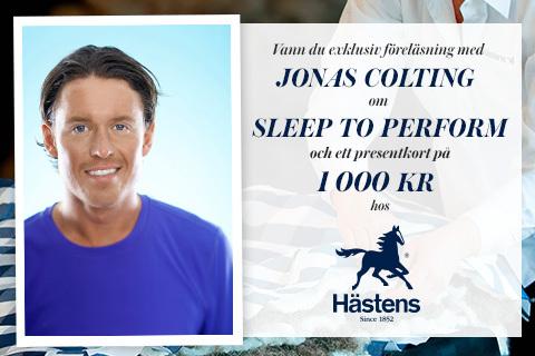 Vann du föreläsning med Jonas Colting?!