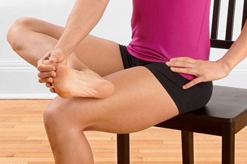 3 enkla övningar för starka fötter