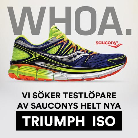 Bli testlöpare av Saucony Triumph ISO