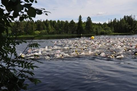 Triathlontävlingar sommaren 2015