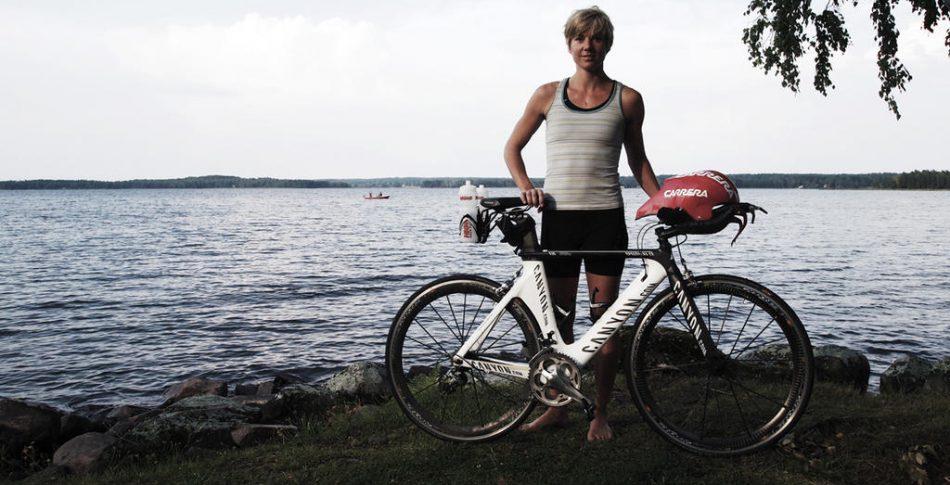 Veckans triathlet: Lena Holmgren