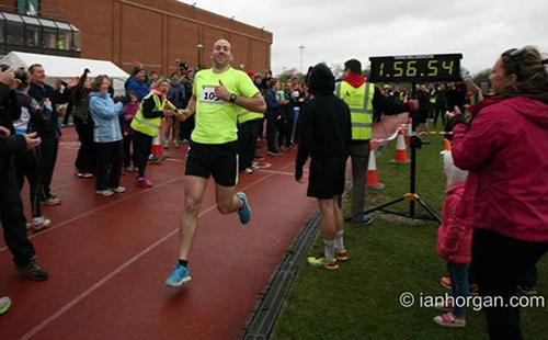 105 irländare satte nytt världsrekord i maratonstafett