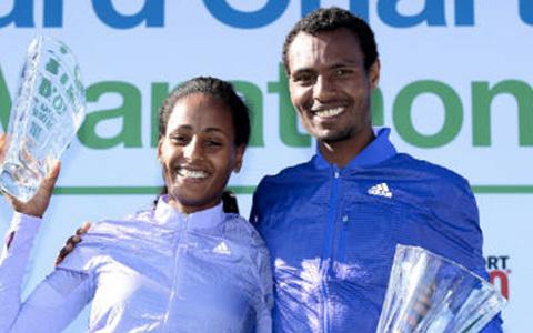 Etiopien dominerade i Dubai Marathon