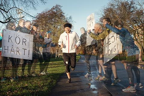 Lonesome runners – Ensam blir stark på nätet