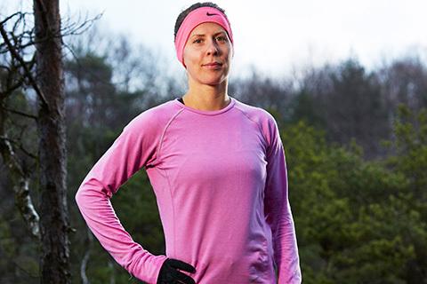 Träna upp ett starkare löpsteg – som Charlotta Fougberg
