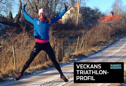 Veckans triathlet: Lina Blomqvist