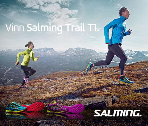 Var det du som vann och blir testlöpare av Salming Trail T1?