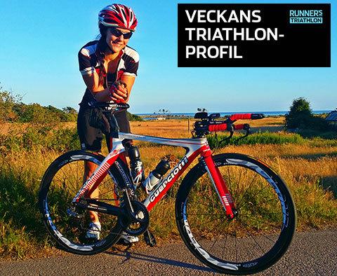 Veckans triathlet: Malin Hellberg