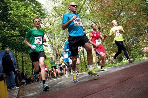 Spring Göteborgsvarvet så här – kilometer för kilometer!