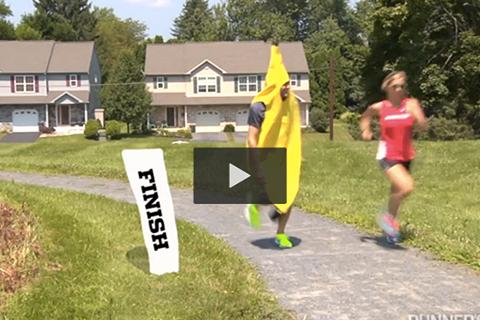 Korsa mållinjen före kostymen – och andra viktiga etikettsregler för loppet