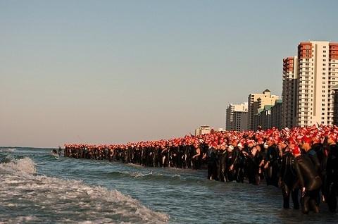 Triathlontävlingar på semestern