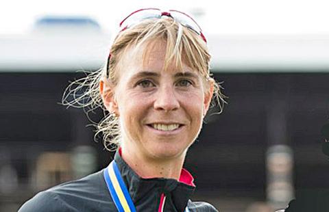Nytt rekord igen! Annelie Johansson fyra i Rom Marathon