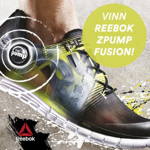 Var det du som vann nya Reebok ZPump Fusion?