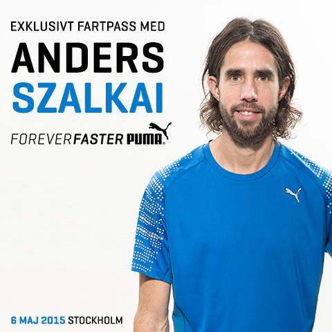 Anmäl dig till exklusivt fartpass med Anders Szalkai och Puma