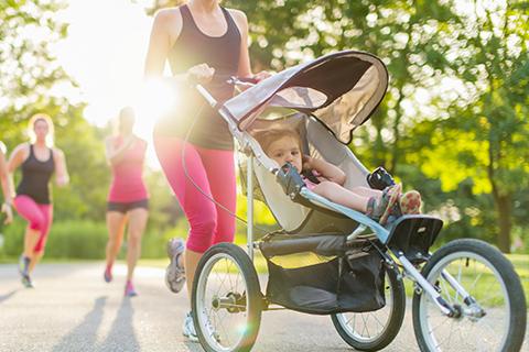 Allt om hur du börjar löpträna igen efter graviditeten