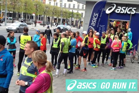 Provspring banan inför ASICS Stockholm Marathon