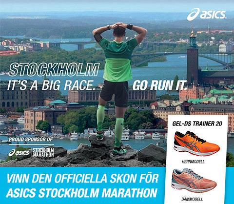 Nu kan du vinna den officiella skon för ASICS Stockholm Marathon 2015