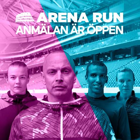 Arena Run är Europas första obstacle run i arenamiljö