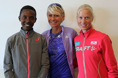 Isabellah Andersson jagar sin sjunde seger i ASICS Stockholm Marathon