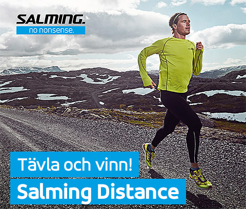 Tävla & bli testlöpare av Salming Distance