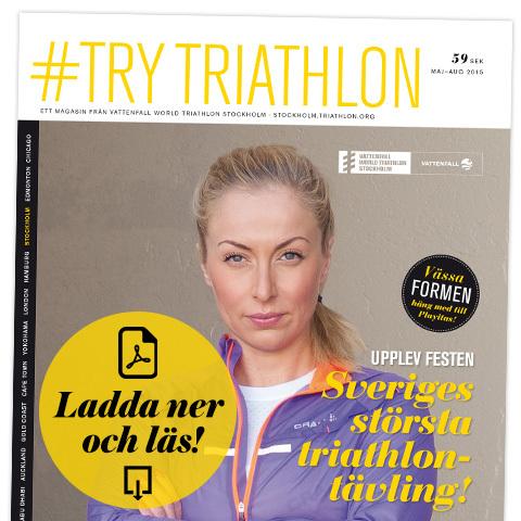 Ladda ner och läs nya numret av #TryTriathlon utan kostnad