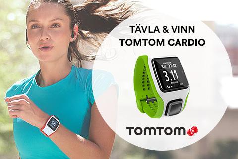 Vinn GPS-löparklockan Runner Cardio från TomTom