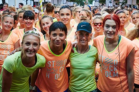 """Nike Women's 10K: """"Plötsligt sprang jag med Paula Radcliffe och Joan Benoit"""""""