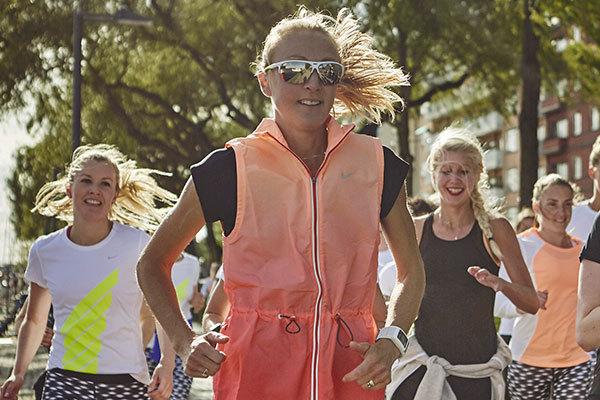 Paula Radcliffe: Det här är min favoritträning