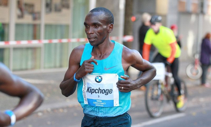 Eliud Kipchoge vinner Berlin Marathon!