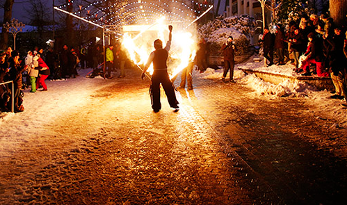 Winter Run flyttar in på Skansen