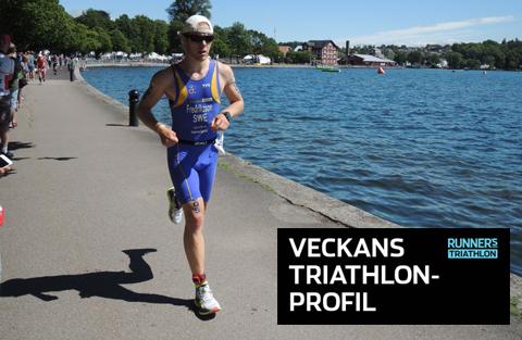 Veckans triathlet: Martin Fredriksson