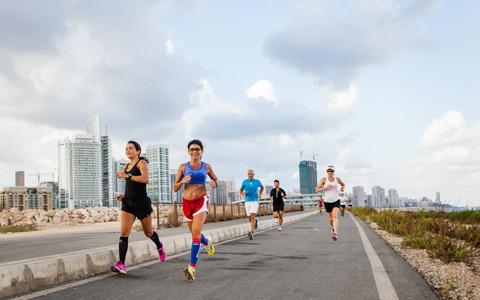 Löpning i Beirut – mot alla odds