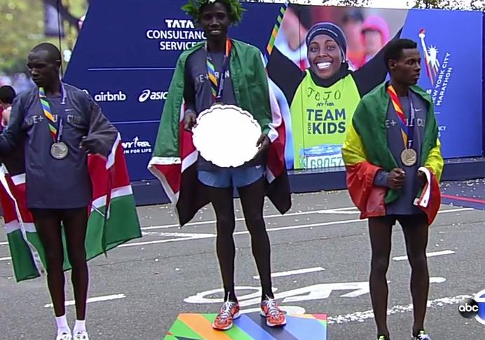Biwott och Keitany snabbast i New York City Marathon 2015