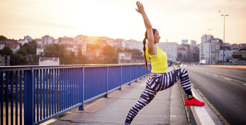 Sex bra yogaövningar för löpare!