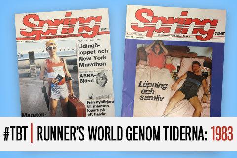 #TBT | Runner's World genom tiderna: 1983