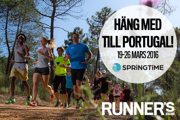 Häng med oss på löparresa till Portugal – just nu 1000 kr rabatt!