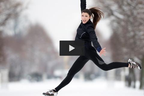 Fredagskul: Snö är perfekt för löpning – eller?