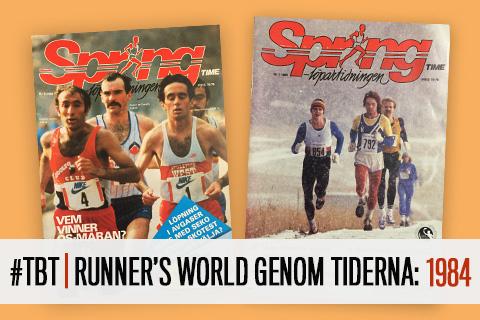 #TBT | Runner's World genom tiderna: 1984