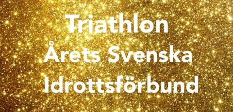 Svenska Triathlonförbundet – Årets förbund 2015