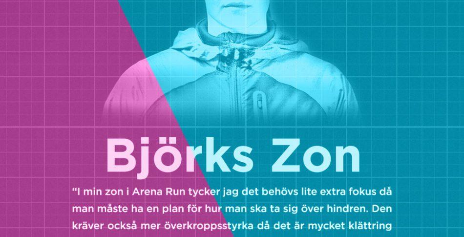 Gladiatorn Björk Odinsdottir om sin zon i Arena Run – boka innan prishöjningen imorgon
