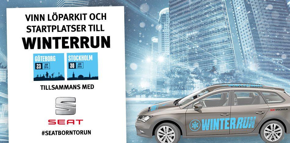 Vinn löparkit och startplatser till Winterrun till ett värde av 4100 kr!