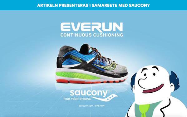Saucony ger dig mer energi på ett smartare sätt med nya EVERUN!
