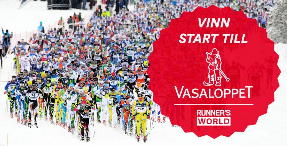 Vinn startplats till Vasaloppet 2016!