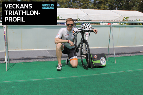 Veckans triathlet: Karl Ericsson