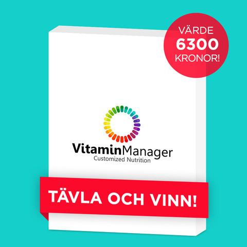 Var det du som vann julklappen från Vitamin Manager?