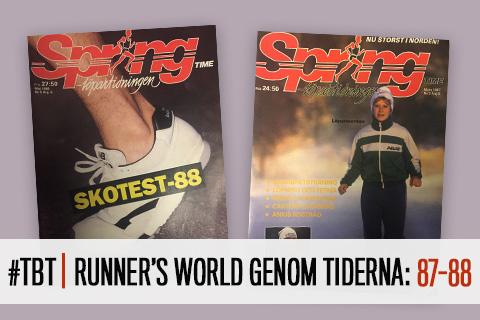 #TBT | Runner's World genom tiderna: 1987-88