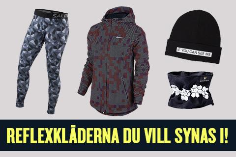 Reflexklädena du vill synas i den här vintern!