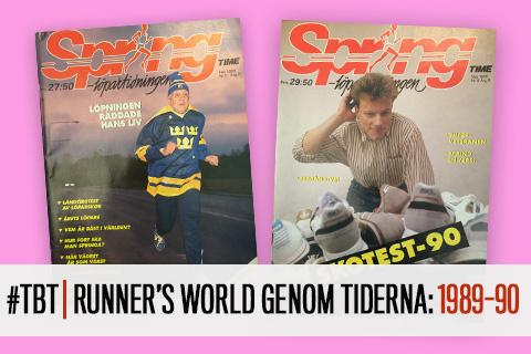 #TBT | Runner's World genom tiderna: 1989-90