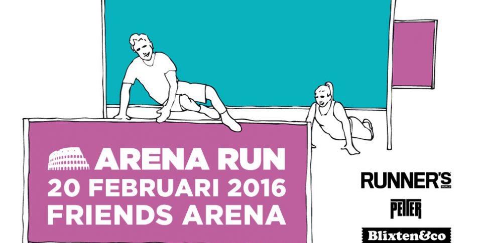 Kolla in hela Arena Run-banan och säkra din startplats med RW-rabatt!