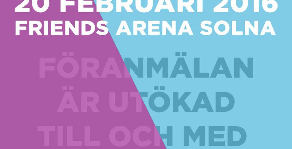Arena Run utökar anmälan till 15 februari